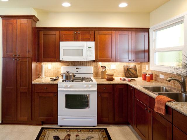 Before Modern Narrow Kitchen